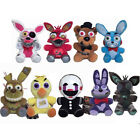 """7"""" Set of 9 Five Nights at Freddy's Nightmare Mangle Foxy Bunny Plush Toy Gift"""