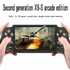 """X9S 5.1"""" 8GB 128Bit Portable Handheld Game Console MP3 Video Player 1000+ Games"""