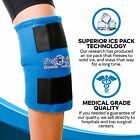 Knee Ice Pack Wrap Hot And Cold Therapy Reusable Compression Pain Relief