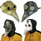 Plague Doctor Bird Mask Long Nose Beak Cosplay Steampunk Bird Beak Mask Hallowee