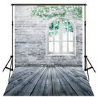 Vinyl Photo Backdrop Brick Wood Floor Photography Background Video Studio Props