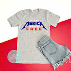 Merica Land Of The Free Shirt, July 4th Shirt, 4th Of July Shirt, Patriotic, Red