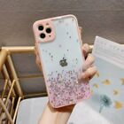 For iPhone 11 Pro Max XR XS MAX 8 7+ Case Slim Bling Glitter Clear Girly Cover
