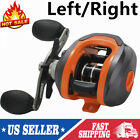 New Light Weight 17+1BB 7.2:1 Gear Ratio Baitcasting Reel Fishing Reel L/R Hand