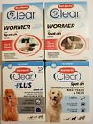 Bob Martin Clear Wormer Spot on for Pets over 1kg and Puppies Worming Treatment