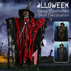 Halloween Skeleton Ghost Decoration Scary Luminous Props House Party Decor NEW