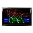 Bright LED Neon Light Animated Motion w/ ON/OFF Store OPEN Business Sign