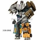 HZX 6 IN one Defensor Bruticus Superion Devastator KO IDW 5 in 1 Figure NO BOX
