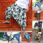 Harem Trousers Ali Baba Mens Pants Aladdin Baggy Hippie Yoga New Hippy Bottoms