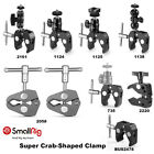 "SmallRig Super Crab-Shaped Clamp 15-40mm with 1/4"" Screw/Ball Heads/ ARRI Hole"