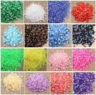 5000 pcs Rhinestone AB Milk Jelly 2mm 3mm 4mm 5mm 6mm Flatback Resin Crystal 01