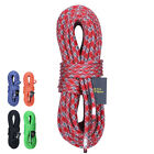 10MM 10M Rock Climbing Rope Static Rope Rappelling Safety Rescue Auxiliary Cord