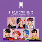 BTS Official Authentic Goods CUBIC DIY PAINTING Ver2 + Express Shipping