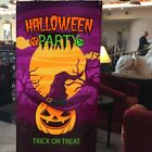 1pc Background Cloth Halloween Pumpkin Large Backdrop for Haunted House