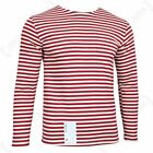 Long Sleeve Top OMAN Red Stripe Russian Surplus Military A02120