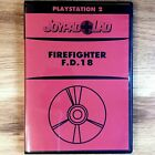 Firefighter F.D.18 PlayStation 2 PS2 Video Game