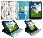 """GoTab GW10 Windows Tablet 10.1"""" Universal Rotating Case Cover with Card Slots"""