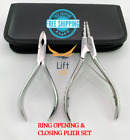 Ring Opening Pliers Ring Closing Pliers Captive Bead Insert Ball Capture Closure