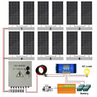 4KW 2KW 48Volt Off Grid Solar Panel Kit:200W Solar Panels For Home Garden Shed