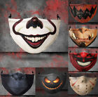 Halloween Horror bike Face Mask Reusable Washable Protection Cover Breathable US