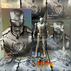 IN STOCK ZD TOYS Iron Man MK 2 Mark II 7    Action Figure Marvel Avengers MCU
