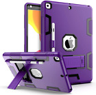 iPad 10.2 Case 8th Gen 2020 Heavy Duty Protection Cover Full Body Pencil Holder