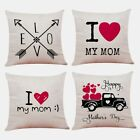 1x(modern Design Of Mother's Day Cushion Set Printed Pillow Set Home Beddin F7d3