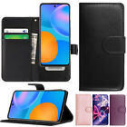 Luxury Leather Magnetic Wallet Flip Stand Case Cover For Huawei P Smart (2021)