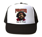 Trucker Hat Cap Foam Mesh School Team Mascot Pirates Loud Proud