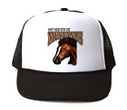 Trucker Hat Cap Foam Mesh School Team Mascot Mustangs Don't Mess With
