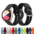 For Samsung Galaxy Watch Active2 40/44mm Silicone Fitness Wrist Band Strap
