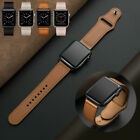 UK Leather Strap iwatch Band Series for Apple Watch SE 5 4...