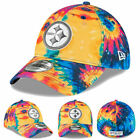 NEW 2020 Pittsburgh Steelers Men's New Era NFL Crucial Catch Hat Cap 39THIRTY