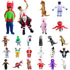 Adults Kids Funny Halloween Christmas Inflatable Costumes Performance Suit Decor