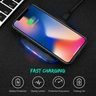 Black Qi Wireless Fast Charger For Samsung Galaxy S8 9 10 Plus Note9 10+ S7 S10+