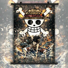 One Piece    Monkey D. Luffy  HD Wall Poster Scroll Home Decoration