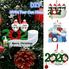 Christmas Ornaments Quarantine 2020 Mask Toilet Paper XMAS Family Personalized
