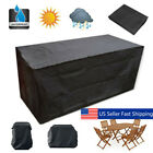 10 Size Waterproof Outdoor Patio Garden Furniture Rain Snow Cover For Table