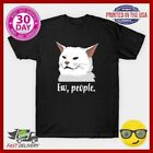 Like Ew People Meowy Cat Lovers Girl Top Funny T-Shirt Women Gift Short Sleeve