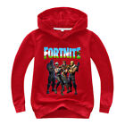 FORTNLTE Adult children Hoodie Multiple color Long Sleeve Pullover Sweatshirt