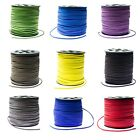Faux Suede Cord Lace Thread String Leather Diy Jewellery Beading 1-10 Meters