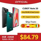 Cubot Note 20 Rear Quad Camera Smartphone NFC 6.5 Inch