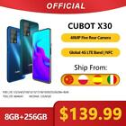 "Cubot X30 Smartphone 48MP Five Camera 32MP Selfie 8GB+256GB NFC 6.4"" FHD"