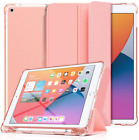 10.2 iPad 8th Gen Case Full Body Protection Flip Folio Cover Pencil Holder Armor