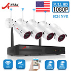ANRAN Home Outdoor Wireless Security Camera System 2.0MP 8CH NVR WIFI 1080P CCTV