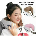 Electric Neck Massager Pillow Memory Foam Custion U-shaped Relax Pain Relief US
