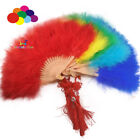 High quality Turkey big feather fan for women Holding Dance Props Party Wedding