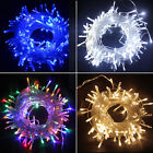 String Fairy Lights 20-400 LED Power Battery Plug in Outdoor Wedding Decoration