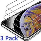 3-Pack For iPhone 12 Mini 11 Pro X Xs Max XR 7 8 Tempered GLASS Screen Protector