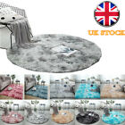 Fluffy Rugs Anti-slip Round Shaggy Rug Super Soft Mat Living Room Floor-bedroom
